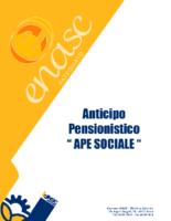 anticipo pensionistico ape sociale